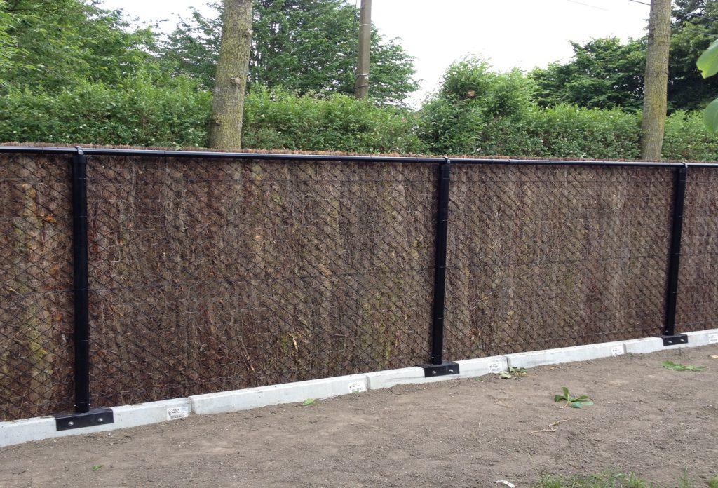 Cs poorten for Moderne afsluiting tuin