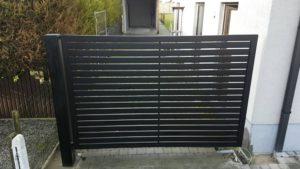 Poort met aluminium laten 70-20
